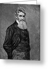John Brown (1800-1859) Greeting Card