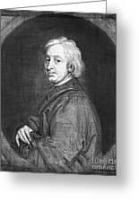 John Dryden (1631-1700) Greeting Card