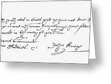John Knox (1505-1572) Greeting Card