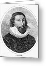 John Winthrop (1588-1649) Greeting Card