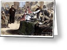 John Wycliffe (1320?-1384) Greeting Card
