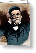 Louis Pasteur, French Chemist Greeting Card by Science Source