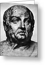 Lucius Annaeus Seneca Greeting Card