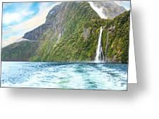Milford Sound Greeting Card