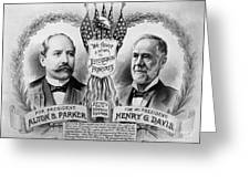 Presidential Campaign, 1904 Greeting Card