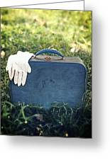 Suitcase Greeting Card by Joana Kruse