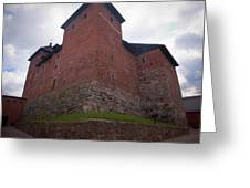 The Castle Of Tavastehus Greeting Card
