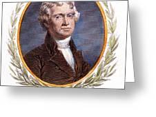 Thomas Jefferson (1743-1826): Greeting Card