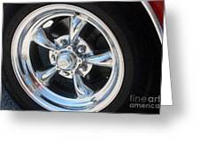 65 Malibu Ss 7829 Greeting Card