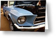 67 Mustang Hcs Greeting Card