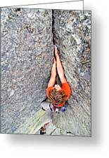 Climber Greeting Card
