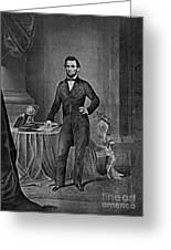 Abraham Lincoln, 16th American President Greeting Card by Photo Researchers