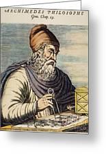 Archimedes (287?-212 B.c.) Greeting Card