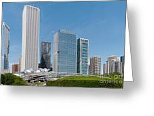 Chicago City Scenes Greeting Card