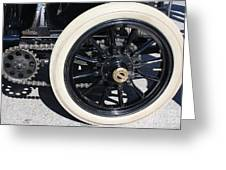 Classic Antique Car- Detail Greeting Card