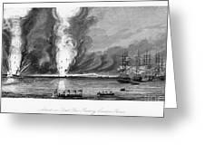 First Opium War, 1841 Greeting Card