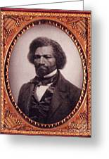 Frederick Douglass African-american Greeting Card by Photo Researchers