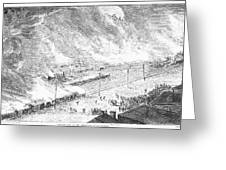 Great Railroad Strike, 1877 Greeting Card
