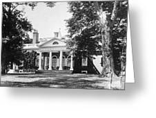 Jefferson: Monticello Greeting Card