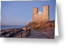 Reculver Towers Greeting Card