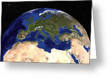 The Blue Marble Next Generation Earth Greeting Card