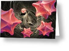Virus Research, Conceptual Artwork Greeting Card