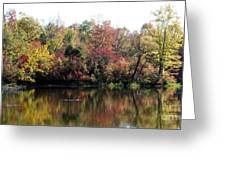 Sugar Ridge State Fish And Wildlife Area Greeting Card