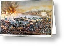Battle Of Fredericksburg Greeting Card
