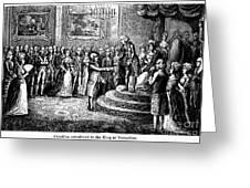 Benjamin Franklin Greeting Card