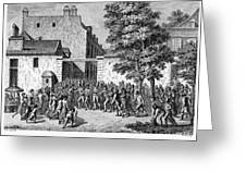 French Revolution, 1789 Greeting Card