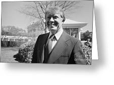 Jimmy Carter (1924- ) Greeting Card by Granger
