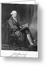John Hancock (1737-1793) Greeting Card