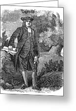 William Penn (1644-1718) Greeting Card by Granger