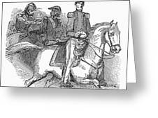 Winfield Scott (1786-1866) Greeting Card by Granger