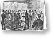 Andrew Johnson (1808-1875) Greeting Card