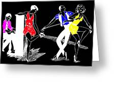 Art Deco Image Greeting Card