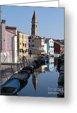 Burano.venice Greeting Card
