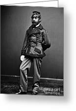 Civil War: Union Soldier Greeting Card