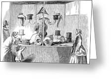 Crystal Palace, 1853 Greeting Card