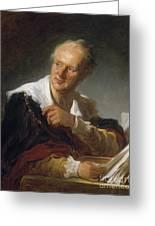 Denis Diderot (1713-1784) Greeting Card