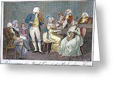 George IIi (1738-1820) Greeting Card by Granger