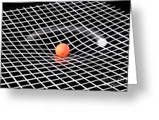 Gravity Simulation Greeting Card