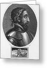 Henry II (1519-1559) Greeting Card
