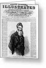 John Brown, American Abolitionist Greeting Card
