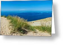 Sleeping Bear Dunes Greeting Card
