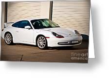 911 Porsche 996 6 Greeting Card