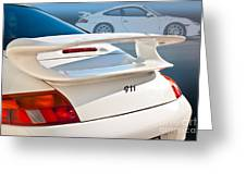 911 Porsche 996 8 Greeting Card