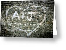 A And J Greeting Card