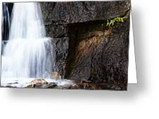 A Beautiful Waterfall Greeting Card