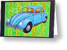 A Beetle Remembered Greeting Card